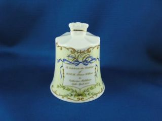 William Kate Middleton Wedding Commemorative Bell Aynsley