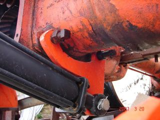 store three point hitch for allis chalmers b c tractor