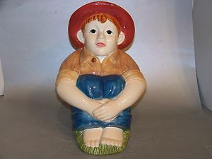 Hull Like Red Hat Barefoot Boy Cookie Jar Repo China