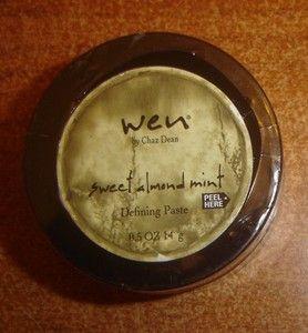 Wen by Chaz Dean Sweet Almond Mint Defining Paste NIP