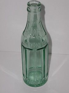 Vintage Cheerwine Soda Bottle West Jefferson N.C. 6oz. 8 Sided