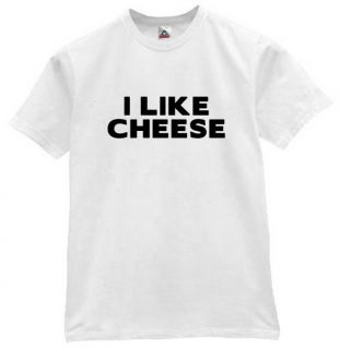 Like Cheese T Shirt Funny Retro Humor Tee Pop WTE XL