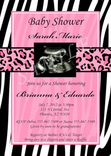 Custom photo baby shower invitations, any theme