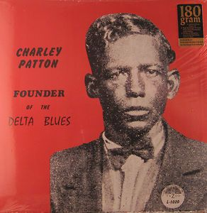 Charley Patton Founder of The Delta Blues Yazoo Double LP SEALED New
