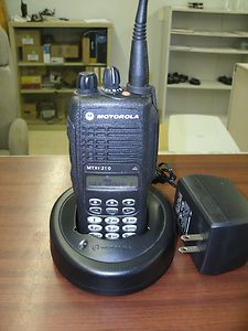 Motorola MTX8250 160 Channel Privacy Plus 800 MHZ Portable Radio With