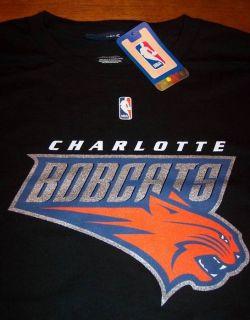 Charlotte Bobcats NBA Basketball Long Sleeve T Shirt XL New w Tag