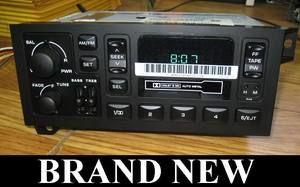 NOS 1984 2000 Dodge RAM Jeep Cherokee Radio Cassette tape stereo OEM