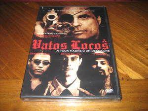 Locos DVD Chicano Los Angeles Organized Crime Damian Chapa Ricco Chapa