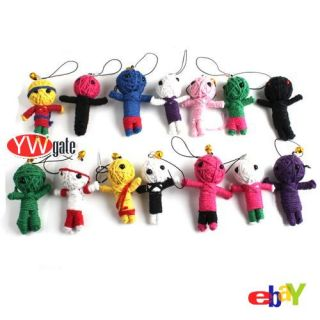 Voodoo Doll Collectible Charm Figures Cell Phone Strap 260040