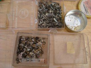 Pocket Watch Parts Clicks Springs Staffs Steampunk Altered Art