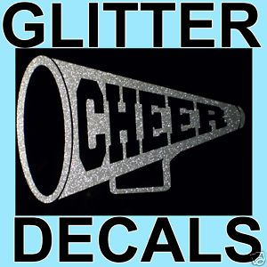 Cheerleading Glitter Car Decal Dance Cheer Shorts Shirt