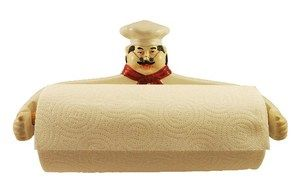 Chef Paper Towel Holder, wall decor, Kitchen wall