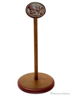 New Wood French Chef Kitchen Country Paper Towel Holder