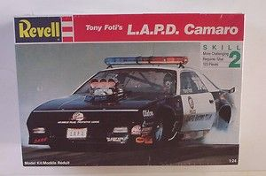 Chevy Camaro 7423 Revell 1 24 SEALED Tony Fotis LAPD Model Kit