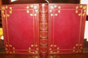 1910 CHARLES LAMB Essays of Elia TRUSLOVE FINE BINDING Rare Antique