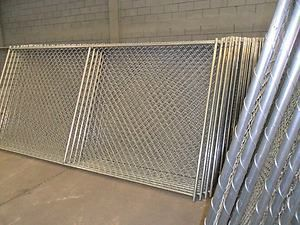 Temporary Chain Link Fence Panels 6x12 With Stand And Clamp