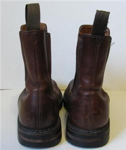 Vintage J Crew Rugged Chelsea Ankle Boot Mens Sz 7 5 D