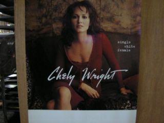 chely wright single white female promo poster