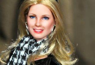 OOAK doll CHERYL LADD in Charlies Angels   repaint by Noel Cruz