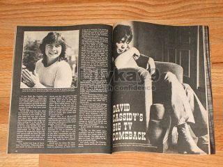 DAVID & SHAUN CASSIDY Andy Gibb LAVERNE & SHIRLEY Leif Garrett STARSKY