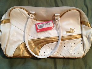 New Puma Punch Grip Bag Shopper Tote Purse Large Diaper Gym