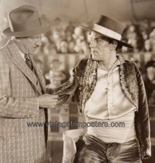 Lon Chaney Tod Browning Candid 1927 Still The Unknown