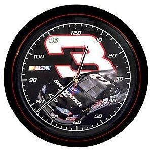 NASCAR 3 Dale Earnhardt Richard Childress Racing Sound Wall Clock New