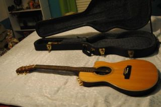 Chet Atkins Epiphone Acoustic Electric Guitar w Original Case New