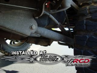 99 06 Chevy GMC 2500 Avalanche 4x4 6 RCD Lift Kit