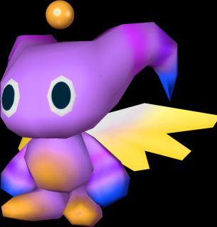 Nights Into Dreams Sonic Adventure Chao UFO Catcher Sega Plush Toy