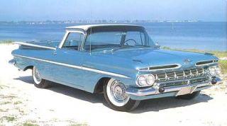 FM Stereo Radio 1959 1960 Chevrolet El Camino USB Aux  240 W