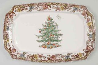 Spode CHRISTMAS TREE GROVE Rectangular Serving Platter 8949179