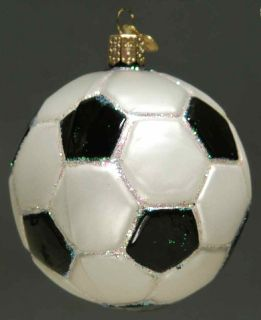 Merck Familys Christmas Ornament Soccer Ball 6741065