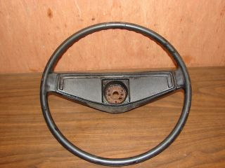 Chevrolet Nova Steering Wheel. This is a good 1970 Chevrolet Nova