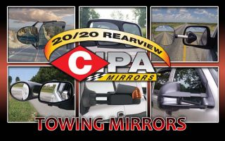 Extendable Replacement Towing Mirror Electric Pair 70000 Cipa