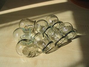 Glass Fire Cupping Cups for Chinese Massage Vintage USSR Soviet