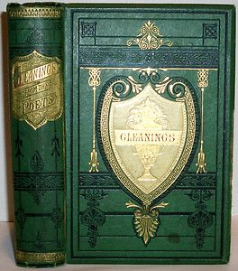 Victorian Poetry English Poets Chaucer to Tennyson Fine Binding