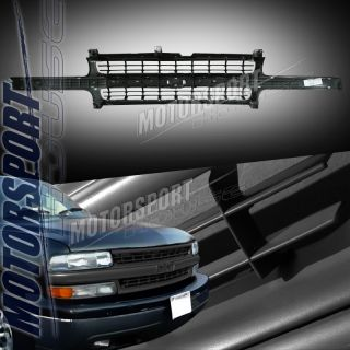 2000 2005 Chevy Suburban 1500 2500 ABS Plastic Front Grille Z71 LS Lt