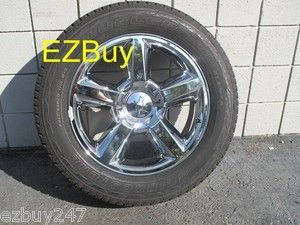 20 Chevrolet Silverado Tahoe Suburban Factory Original Chrome Wheel