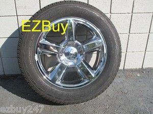20 Chevrolet Silverado Tahoe Suburban Factory Original Chrome Wheel