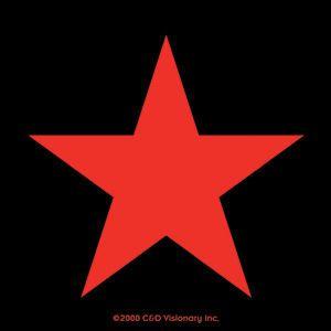 Red Star Revolutionary Sticker Che Guevara Marxist