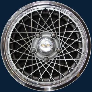 77 87 Chevrolet Caprice 15 3081B Diamond Hubcap Wheel Cover GM