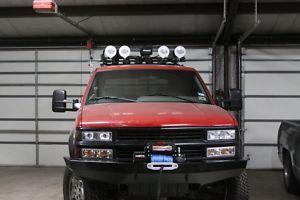 Custom Winch Bumper for Chevy GMC Trucks 1988 1998