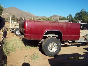 1988 94 Chevy Truck Bed Only with Tailgate