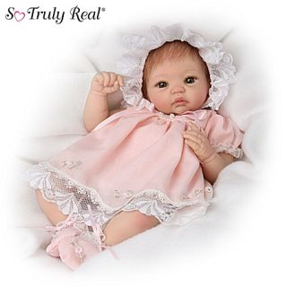 cheri musical movable so truly real baby doll