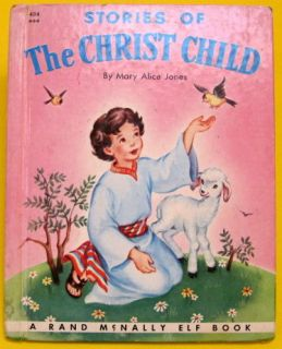 Stories of The Christ Child Vintage Rand McNally Elf Mary Alice Jones