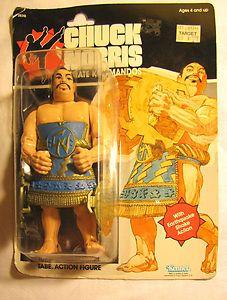 CHUCK NORRIS Karate Kommandos TABE Vintage Rare Toy Action Figure 6