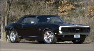 1967 1968 Chevrolet Camaro Am FM Stereo Radio Black Dash 240 Watts USA
