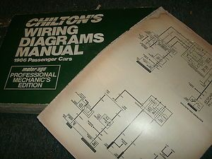 1986 Chevrolet Chevette Oversized Wiring Diagrams Schematics Sheets