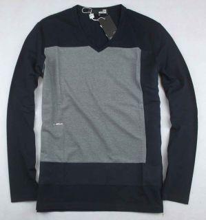 Moschino Mens Simple V Neck T Shirt Size M L XL XXL Blue 2605